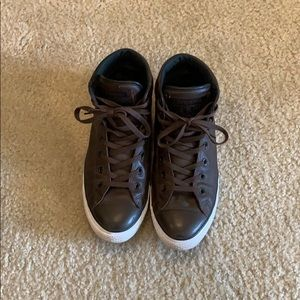 Leather Converse Chuck Taylor's